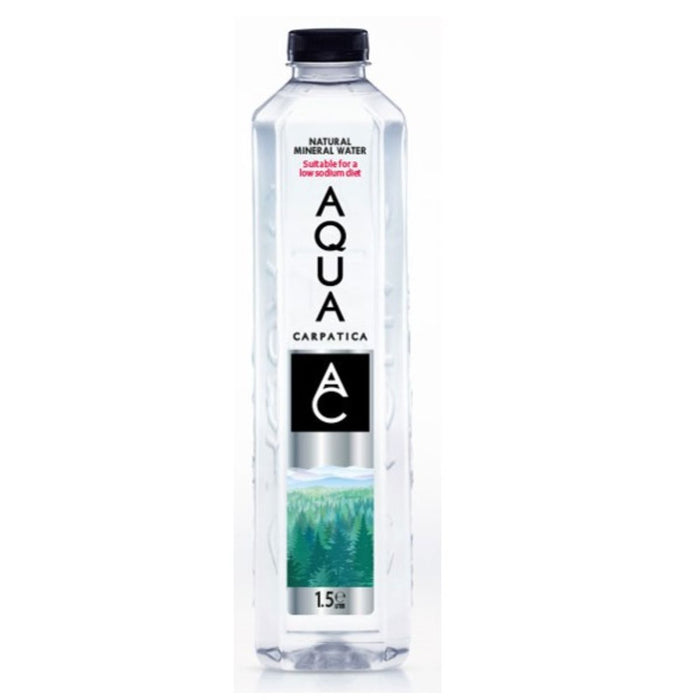 Aqua Carpatica | Still Natural Mineral Water - Sodium Free | 1 x 1.5ltr