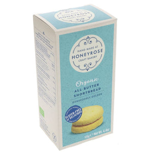 Honeyrose | All Butter Shortbread | 1 x 125g | Honeyrose