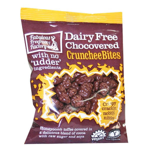 Fabulous Free From Factory | Chocovered Crunchee Bites | 1 x 65g | Fabulous Free From Factory