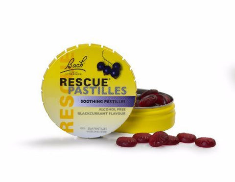 Bach | Rescue Pastilles - Blackcurrant | 1 x 50g