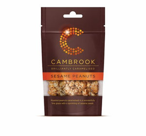 Cambrook | Caramelised Sesame Peanuts | 1 x 80g | Cambrook