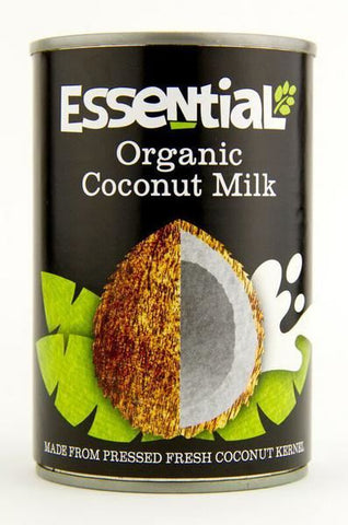 Essential | Organic Coconut Milk | 1 X 400ml. Sold By Superfood Market