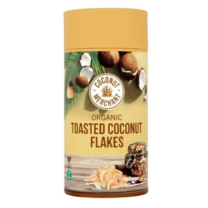 Coconut Merchant | Toasted Coconut Flakes | 1 x 500g