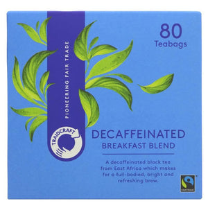 Traidcraft | Decaffeinated Breakfast Blend | 1 X 250g. This Product Is :- Vegan,fairtrade