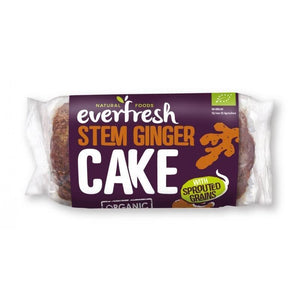 Everfresh Natural Foods | Sprouted Ginger Cake | 1 x 350g | Everfresh Natural Foods