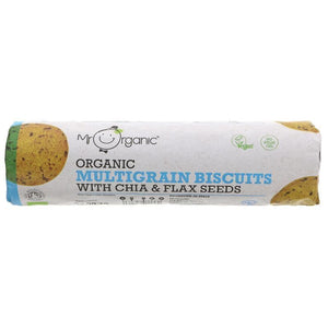 Mr Organic | Multigrain Biscuits | 1 x 250g | Mr Organic