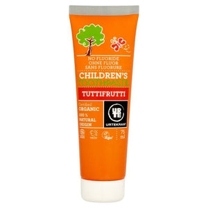 Urtekram | Organic Children's Tutti Fruitti Toothpaste | 1 X 75ml. Sold By Superfood Market