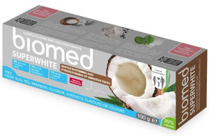 Splat Global | Biomed Superwhite Gentle Coconut Whitening Toothpaste | 1 x 100g