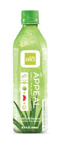 Alo | Alo Appeal - Aloe Pomelo Pink Grapefruit & Lemon | 1 x 500ml