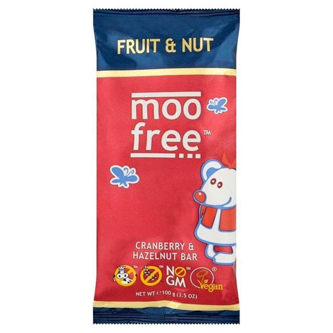 Moo Free | Fruit & Nut Bars | 1 X 80g. Sold By Superfood Market