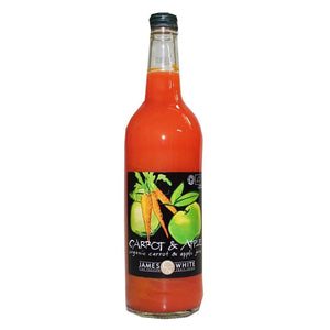 James White | Carrot & Apple Juice - Og | 1 x 750ml | James White