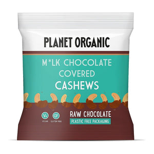 Planet Organic | Organic Chocolate Covered Cashews | 1 X 30g. Sold By Superfood Market