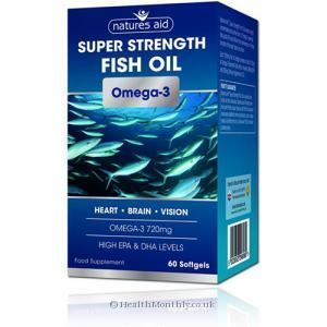 Natures Aid | Super Strength Omega 3 Capsules | 1 x 60s | Natures Aid