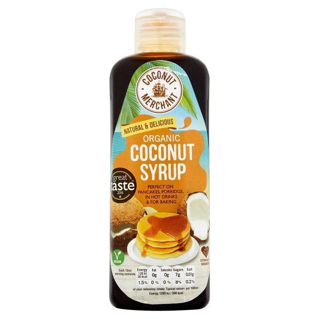 Coconut Merchant | 100% Natural Coconut Syrup | 1 x 250ml