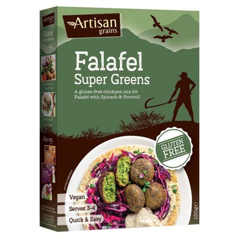 Artisan Grains | Falafel - Super Greens | 1 X 150g. This Product Is :- Gluten Free,vegan