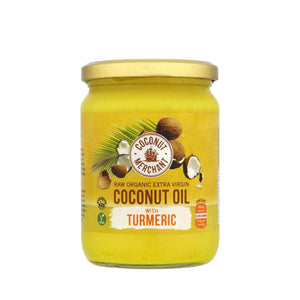 Coconut Merchant | Coconut Oil With Turmeric | 1 x 500ml | Coconut Merchant
