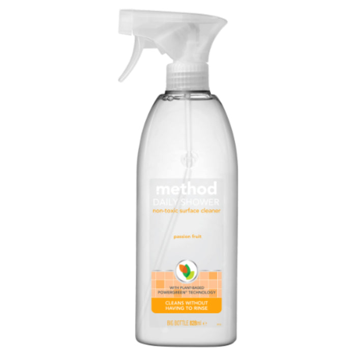Method | Daily Shower Cleaner - Passion Fruit | 1 x 828ml