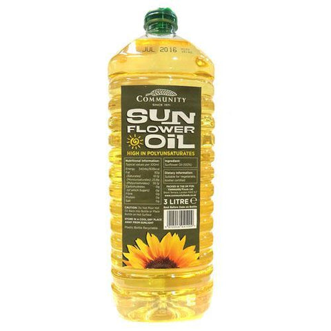 Community Foods A | Community  Sunflower Oil | 1 x 3ltr