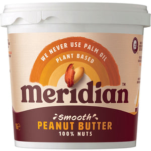 Meridian | Peanut Butter Smooth | 1 x 1kg | Meridian
