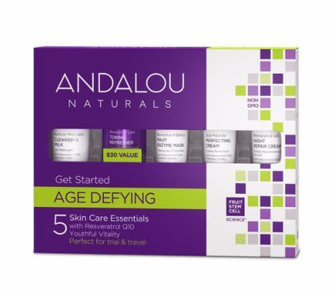 Andalou | Age Defying Get Started Kit | 1 x 5 Pieces