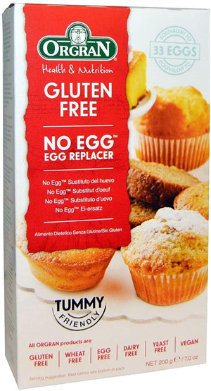 Orgran | No Egg Egg Replacer Pouch | 1 X 200g. Sold By Superfood Market