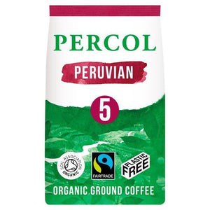 Percol | Bold Peruvian Fairtrade Ground | 1 X 200g. This Product Is :- Vegan,organic,fairtrade