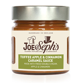 Joe&sephs | Toffee Apple & Cinnamon Caramel Sauce | 1 x 230g