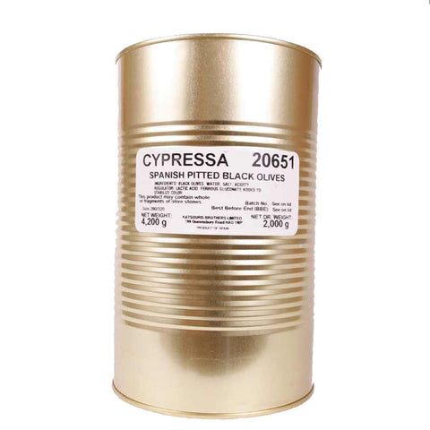 Cypressa | Pitted Black Olives | 2 Kg