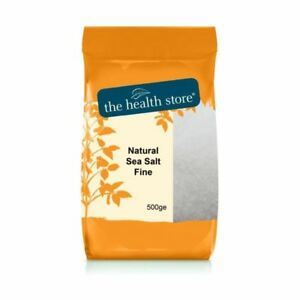 Ths Sea Salt | Ths Natural Sea Salt Fine | 1 X 500ge. Sold By Superfood Market