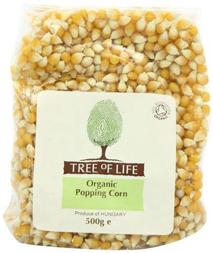 Tree Of Life | Organic Popping Corn | 1 x 500g