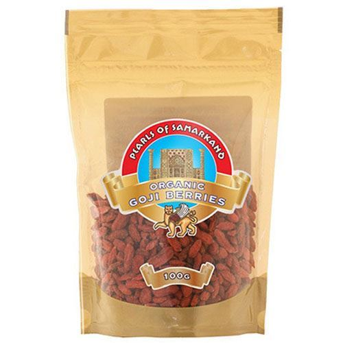 Pearls Of Samarkand | Organic Goji Berries | 1 x 100g