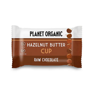 Planet Organic | Organic Hazelnut Butter Cup | 1 X 25g. Sold By Superfood Market