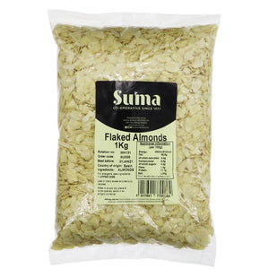 Suma Bagged Down | Almonds - Flaked | 1 Kg