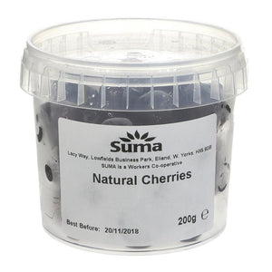 Suma | Cherries Glace - Dark Red | 1 x 200g