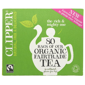 Clipper | Organic & Fair Trade Everyday Tea | 1 x 80g