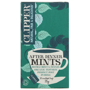 Clipper | After Dinner Mints | 1 x 20 Bags