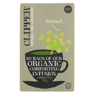 Clipper | Fennel - Og | 1 x 20bags