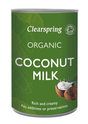 Clearspring | Organic Coconut Milk | 1 x 400ml | Clearspring