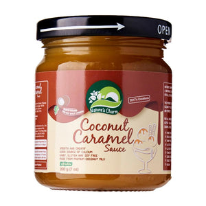 Natures Charm | Coconut Caramel Sauce | 1 x 200g