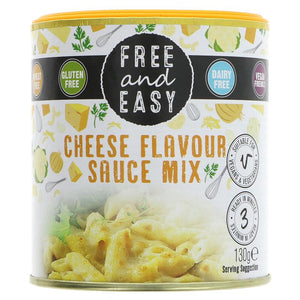 Free & Easy | Cheese Flavour Sauce Mix | 1 x 130g