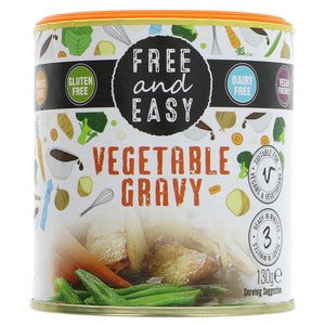Free & Easy | Gravy Sauce Mix | 1 x 130g