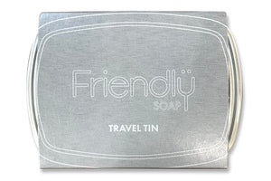 Friendly Soap | Friendly Soap Travel Tin | 6 x Single | Friendly Soap