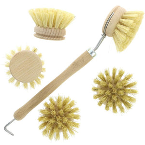Hill Brush Company | Washing Up Brush + Four Heads | Each