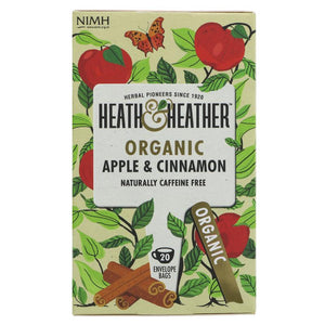 Heath And Heather | Apple & Cinnamon | 1 x 20 Bags