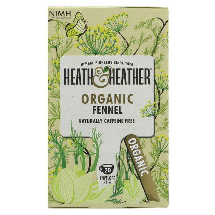Heath And Heather | Fennel | 1 x 20 Bags