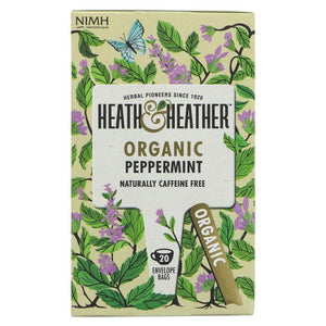Heath And Heather | Peppermint | 1 x 20 Bags