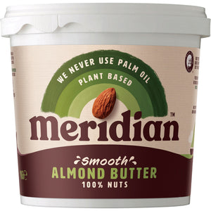 Meridian | Almond Butter Smooth | 1 x 1kg | Meridian