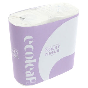 Ecoleaf By Suma | Ecoleaf Toilet Tissue | 1 x 4 Pack