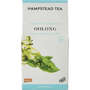 Hampstead | Organic Biodynamic Oolong Leaf Tea | 1 x 50g