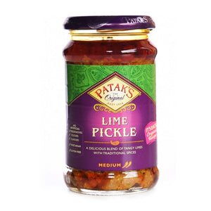 Pataks | Lime Pickle - Medium/hot | 1 x 283g